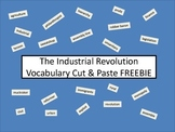 Industrial Revolution Vocabulary Cut & Paste FREEBIE