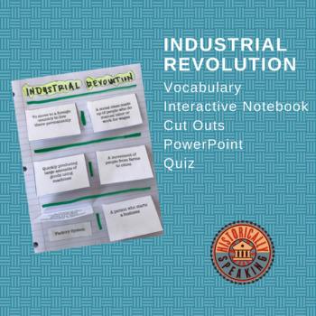 Industrial Revolution:  Vocabulary Fold Up