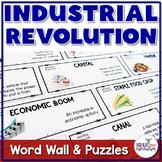 Industrial Revolution Vocabulary Word Wall