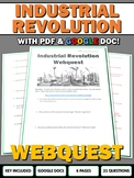 Industrial Revolution - Webquest with Key (Google Doc Included)