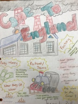 Industrial Revolution Why England first? Advertising Project Based Learning