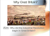 Industrial Revolution Why Great Britain? Lesson bundle
