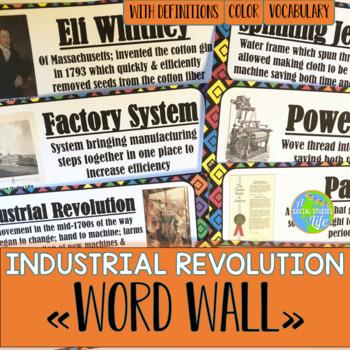 Industrial Revolution Word Wall