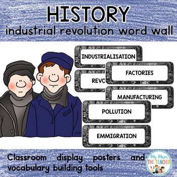 #stockupsale Industrial Revolution Word Wall