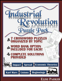 Industrial Revolution Worksheet Puzzle Pack: Industrial Revolution Crosswords