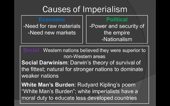 Industrial Revolution and Imperialism Global Review PPT