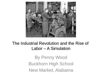 Industrial Revolution and Rise of Labor Simulation