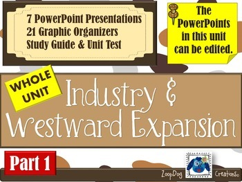 Industrial Revolution and Westward Movement UNIT - Part 1