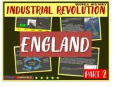 Industrial Revolution in England (PART 2 of Industrial Revolution PPT)