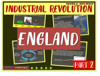 Industrial Revolution in England (PART 2 of Industrial Rev