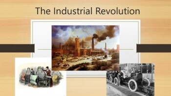 Industrial Revolution PowerPoint and Guided Notes Sheet
