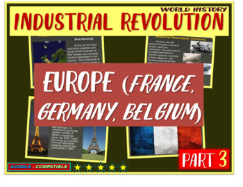 Industrial Revolution in France, Germany (PART 3 of Industrial Revolution PPT)