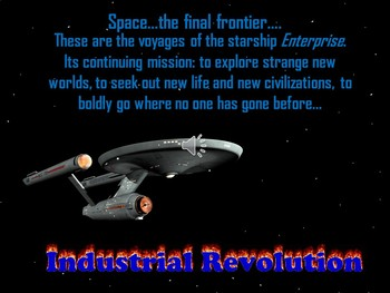 Industrial Revolution in US PowerPoint Star Trek Themed
