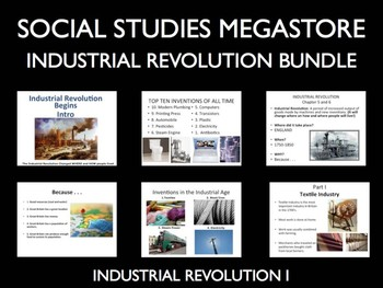 Industrial Revolution Lesson 4 stages of Revolution World History