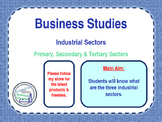 Industrial Sectors - Primary, Secondary & Tertiary Economi