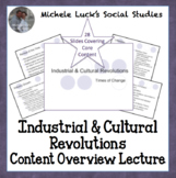 Industrial and Cultural Revolutions World History Powerpoint Lecture