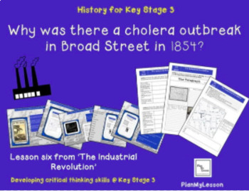 Industrial revolution L6:'Why was there a cholera outbreak in Broad Street,1854?