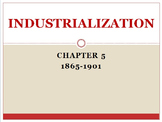 Industrialization 1865-1901 American Vision Modern Times Chapter 5