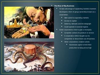 Industrialization-Big Business-Labor Bundle