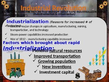Industrialization Era, STAAR Powerpoint Lecture