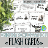 Industrialization and Famous Inventors FLASH CARDS