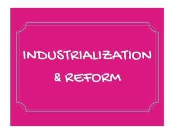 Industrialization & Reform Word Wall