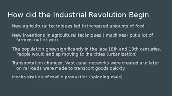 Industrialization Review