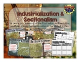 Industrialization & Sectionalism: PowerPoint and Infographic Notes