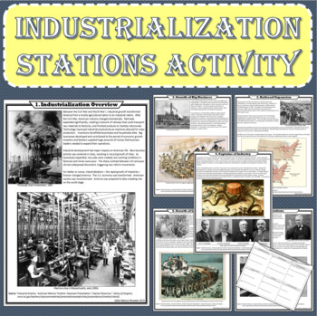 Industrialization Stations Activity