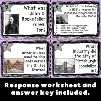 Industrialization Task Cards