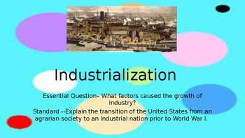 Industrialization (United States)