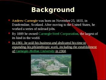 Industrialization & Urbanization - Andrew Carnegie