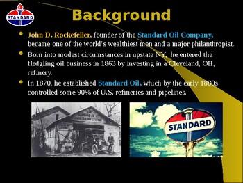 Industrialization & Urbanization - John D Rockefeller