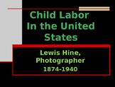 Industrialization & Urbanization - Lewis Hine
