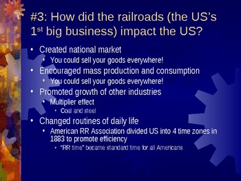 Industrialization, Urbanization, and Immigration (Unit 12)