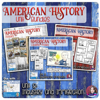 Invention, Industrialization, and Immigration Activities Bundle - US History