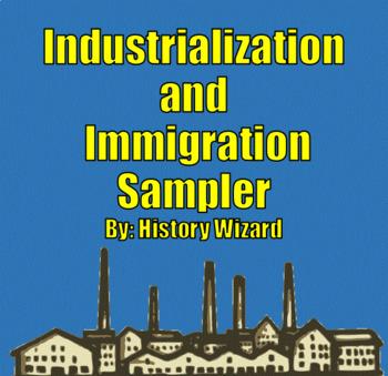 Industrialization and Immigration Sampler