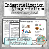 Industrialization and Imperialism Vocabulary Unit