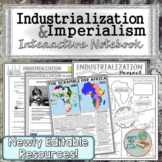Industrialization and Imperialism Interactive Notebook Com