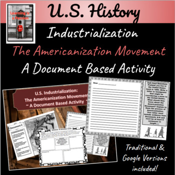 Industrialization in America: The Americanization Movement