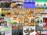 Industrialization to Imperialism Unit Super Pack