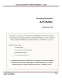 Industry Overview - 2015 US Apparel