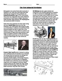 Industry: The US Industrial Revolution (inventions and transportation)
