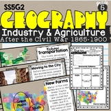 Industry and Agriculture (1865-1900) Lesson SS5G2 Patterns of Economic Activity