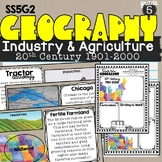 Industry and Agriculture (1901-2000) Lesson SS5G2b Patterns of Economic Activity