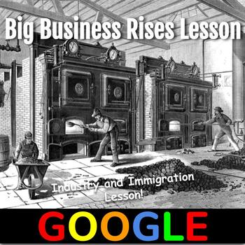 Industry and Immigration Lesson (1865-1914): Big Business Rises