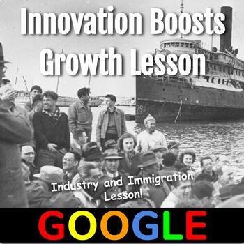 Industry and Immigration Lesson (1865-1914): Innovation Boosts Growth