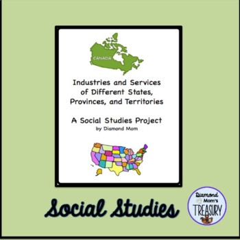 Industry and Services of Different States, Provinces and Territories