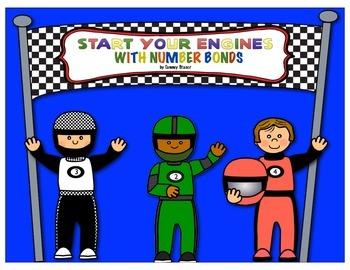 Indy 500 Car Racing Number Bonds and Fact Families