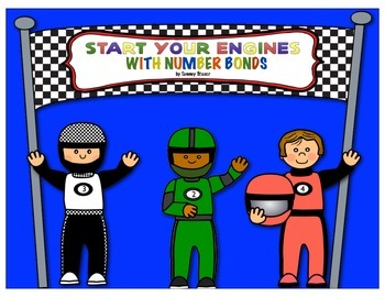 Indy 500 Car Racing Number Bonds and Fact Families